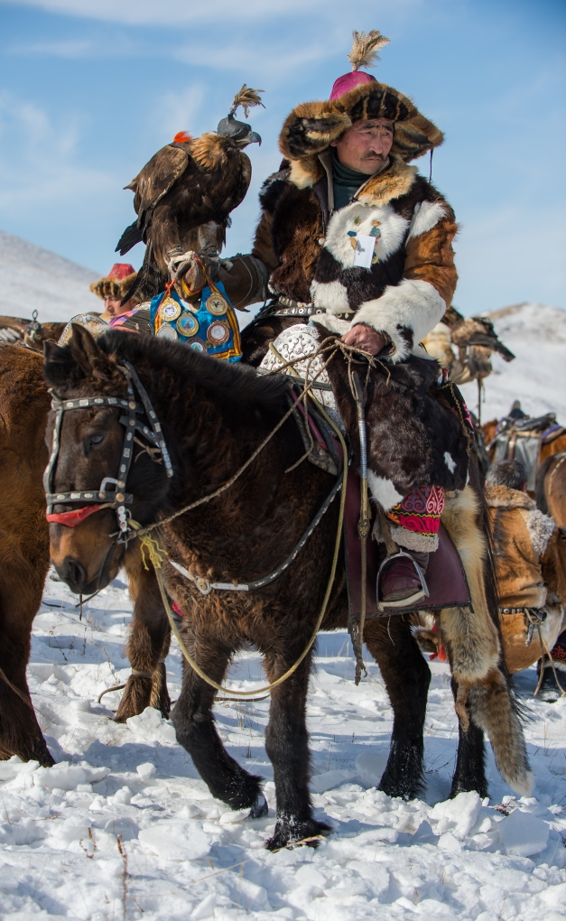 There are a number of contests during the Eagle Festival