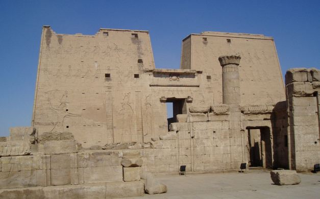 The Temple Of Horus at Edfu