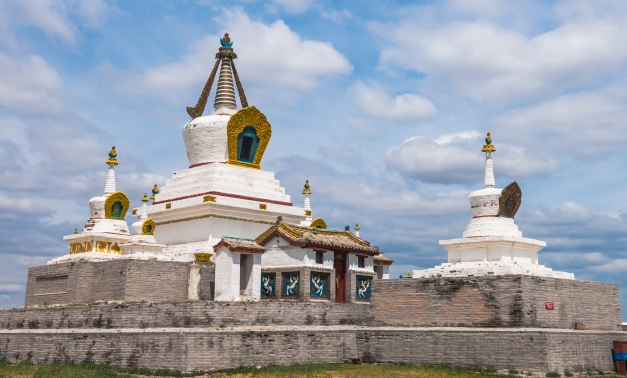 Erdene Zuu is a popular stop onmany tours of Mongolia