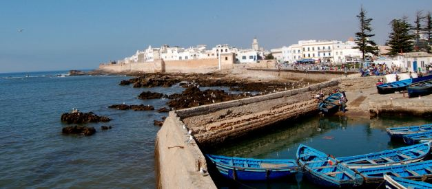 Essaouira has gained its own stamp as a unique seaside town