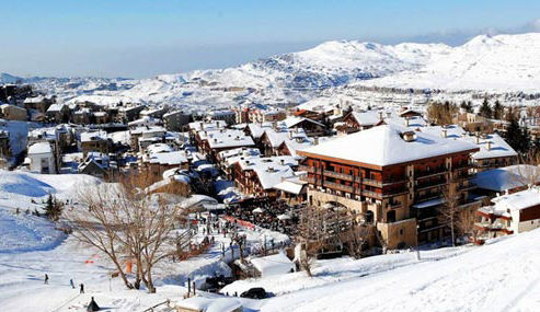 Faraya is a veritable Ski Mecca come the winter months