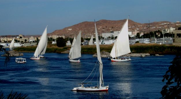 The Felucca is a more adventurous way to explore the Nile