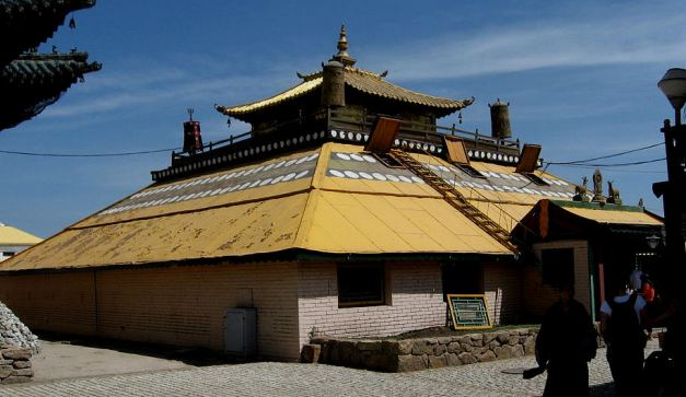 Golden Temple at Gandan Monastary