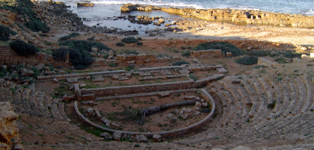 The Greek Theatre at Apollonia