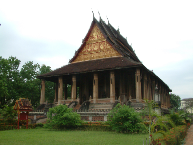 Ho Phra Keow Temple in Vientianne