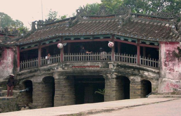 Ancient Bridge in Hoi An