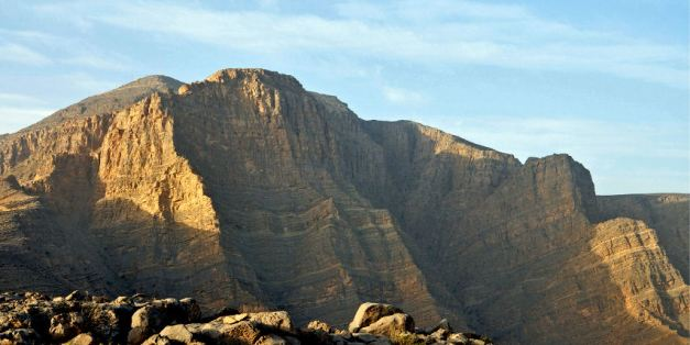 Jebel Harim, the tallest mountain in Musandam