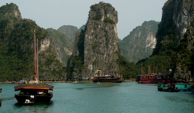 Enjoy some time on Halong Bay