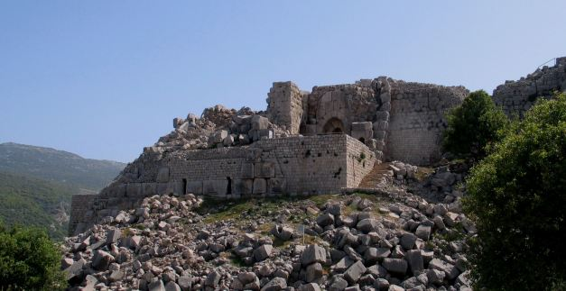 The Crusaders Fortress of Kal'at Namrud