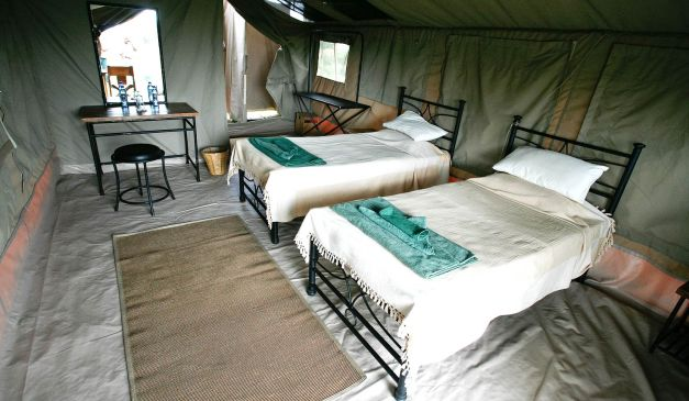 Mobile Tented Camp: Kati Kati Tented Camp
