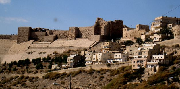 The Castle at Kerak was built during the Crusades
