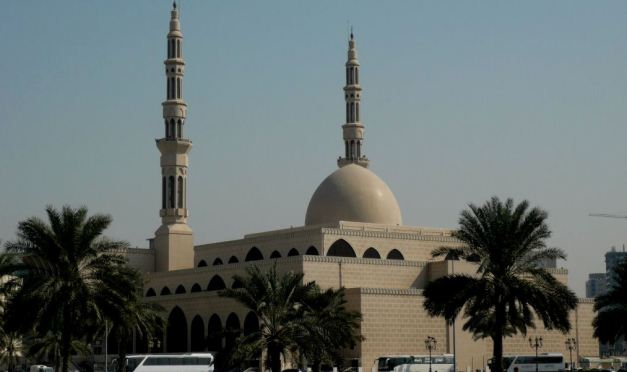 King Faisal Mosque in Sharjah