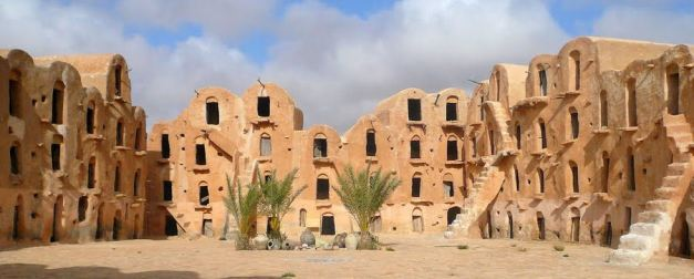 The Berber Granaries of Ksar Ouled Soltane are some of the best preserved known