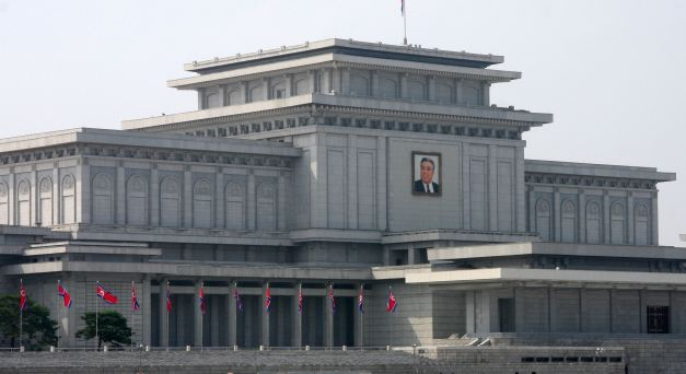 Kumsusan Memorial Palace (Mausoleum of Kim Il Sung)