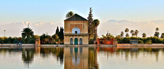 The Menara Gardens are a highlight of Marrakesh