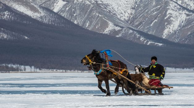Winters in Mongolia can be incredibly harsh