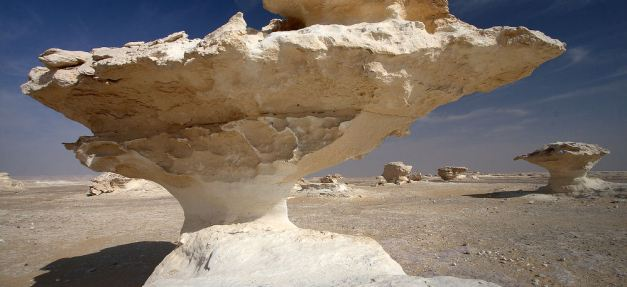 The Mushroom Desert outside Farafra