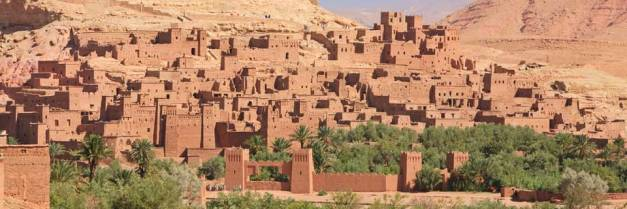 The red walled city of Ouarzazate has gained some additional fame as one of the filming sights for Game Of Thrones