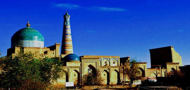 Pahlavan Mahmud Mausoleum in Khiva