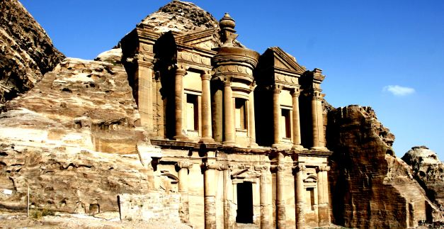 Petra is amongst the most well recognised sites in Petra