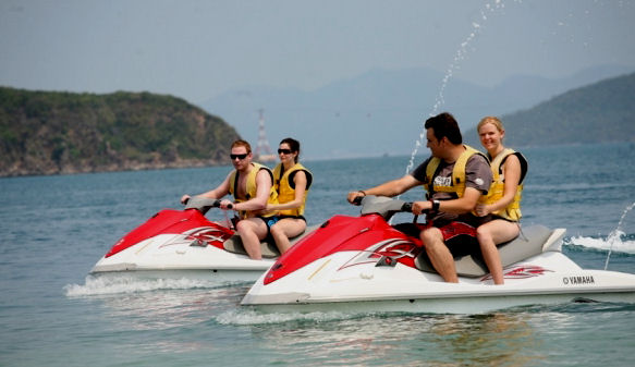 Jet Skiing at Phan Thiet Beach