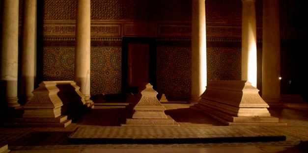 The Saâdien Tombs are a must see site when visiting Marrakesh