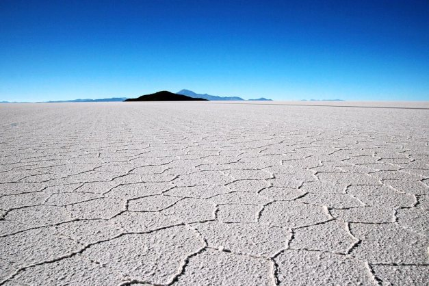 The Salt Flats of Uyuni
