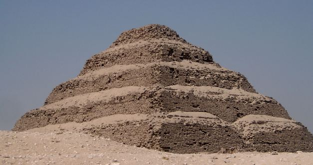 The Step Pyramid at Saqqara (Sakkara)