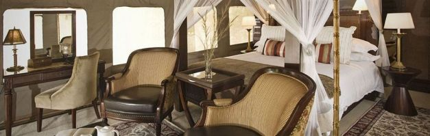 Suggested Luxury Tented Accommodation: Serena Selous Camp