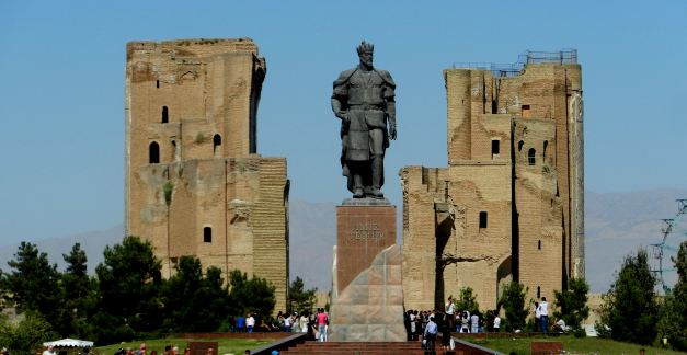 Shakhrisabz the birthplace of the legendary Tamerlane (Tamburlaine) one of the successors to Genghis Khan