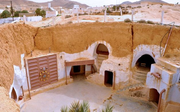 The Hotel Sidi Driss - the famous Lars Homestead