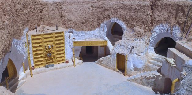 "The Hotel Sidi Driss was the location of the ""Lars Homestead"" in the Star Wars Movies"