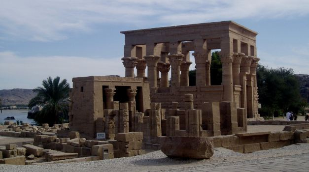 The Temple of Philae near Aswan