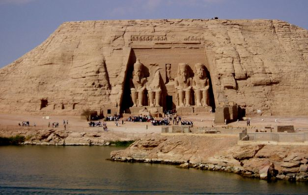 The Temple Of Ramses at Abu Simbel was relocated as part of a major rescue effort