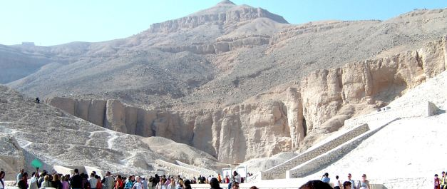 At first glance the Valley Of The Kings does not seem to be impressive, but something fantastic lurks below the surface