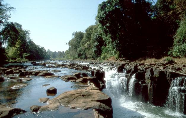 Waterfalls Outside Pakse