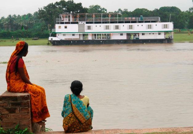 Holy Ganges - Upstream, 8 Nights / 9 Days, Farakka to Patna (Bengal Despatch 2) on ABN Sukapha