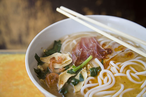 Cross-the-Bridge Noodles are a favourite of locals and visitors alike