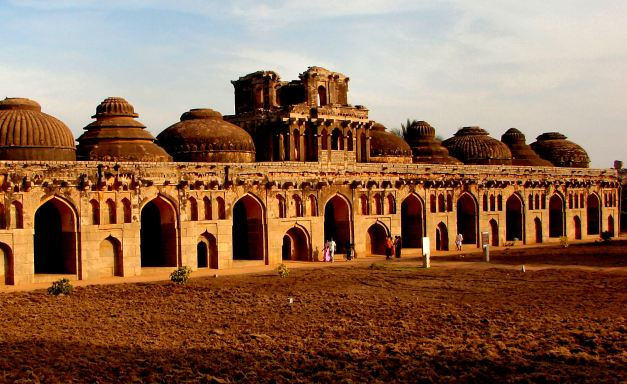 Elephant Stables at the Ancient City of Hampi - a UNESCO World Heritage Site