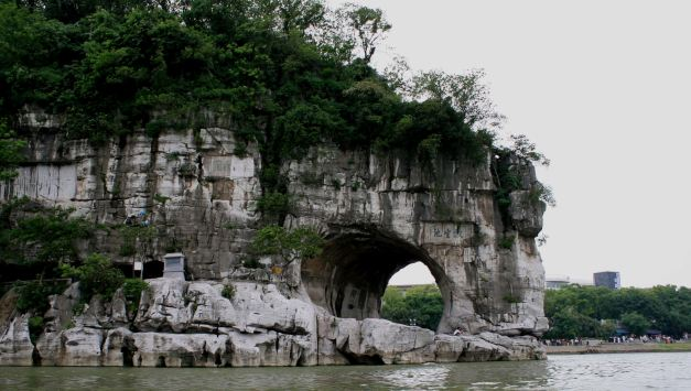 Elephant Trunk Hill is perhaps one of Guilins most reconised points