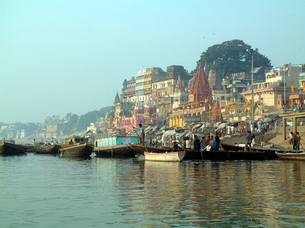 The Ganges has been a arterial lifesource in India for generations