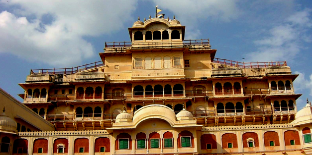 The City Palace in Jaipur