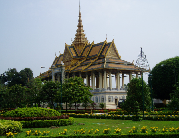 Kings Reception Pavilion, Phnom Penh