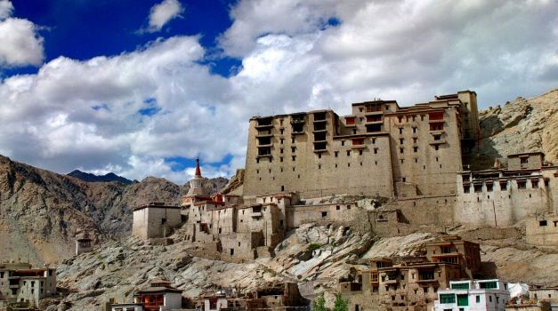 The ancient city of Leh