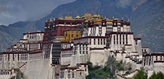 Lhasa is the traditional home of the Dali Lama