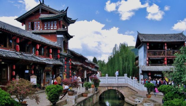 Ligiang is a fascinating water town