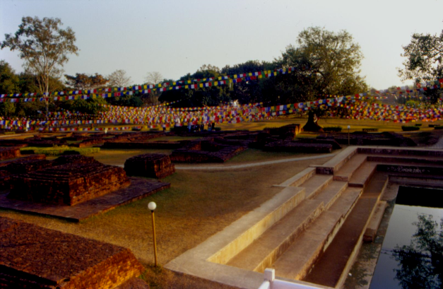 Lumbini, the birthplace of Buddha