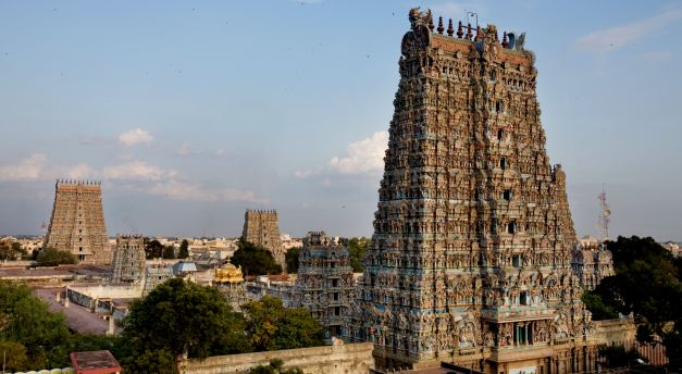 Meenakashi Temple in Madurai