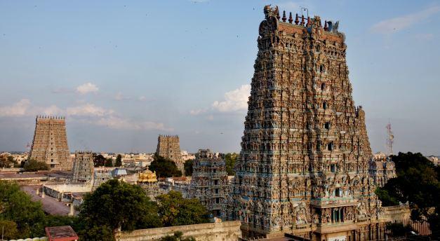 Meenakashi Temple in Madurai