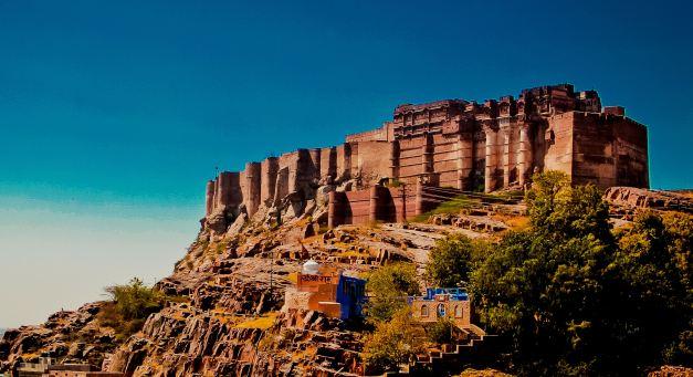 The Imposing Meherangah Fort